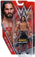 WWE Basic Series 71 Seth Rollins - Action Figure - BONUS Slammy Award!